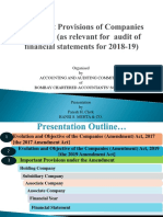 Audit - Important Provisions of Companies Act in 2018-19 1.pptx