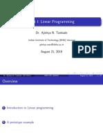 Unit I Linear Programming (1)