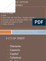 C's of credit