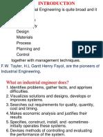 industrial engineering basics