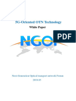 5G Oriented OTN Technology White Paper