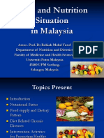 Food Nutrition Situation Malaysia