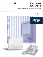 Panasonic KX TA308_KX TA616_ KX T7730 Folleto