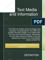 Text Media