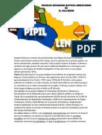 Lencas Poblaron El Oriente Del País