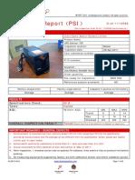 PDI report format