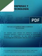 Empresas y Tecnologias