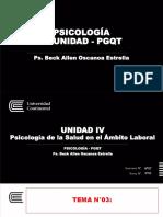 7ma Semana - PGQT Psicología