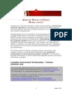 List of Graduate Studies Scholarships - EnG