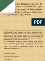 Cultura Spagnola El Siglo de Oro (1)