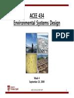Environmental system design