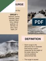 Storm Sturge Presentation