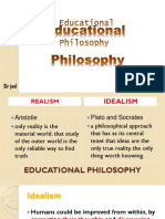 Idealism and Realism