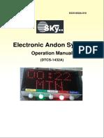 1.Andon Operation Manual