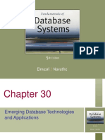Emerging DB technologies and applications