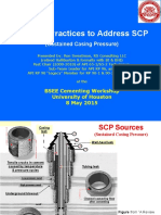 Industry Practices to Address SCP (Sustained Casing Pressure)