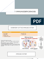 Primary Immunodeficiencies