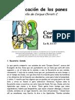 CorpusC.Multiplicación de Los Panes