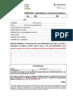 Ficha de Inscripción Campamento ¡Econavidad!