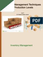Lec 3, Inventory Management Techniques at Production Levels.pptx