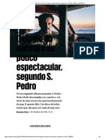 O Elogio Do Normal e Do Pouco Espectacular, Segundo S. Pedro _ Música _ PÚBLICO