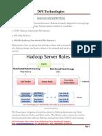 Hadoop Architecture (1)
