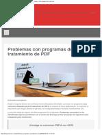 Problemas Con Programas de Tratamiento de PDF - Noticias y Novedades de LexTools
