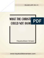 What the Christians Could Not a - Unknown