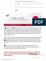 What is Sedex Audit? How to Beneficial for my organization?