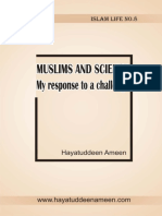 Muslims & Science; My Response - Hayatuddeen Ameen