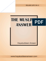The Muslims Answers - Hayatuddeen Ameen