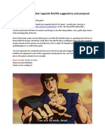 Fist of the North Star Legends ReVIVE Suggestions - Haro