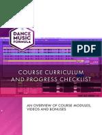 Dance Music Formula Course Contents 2018 1