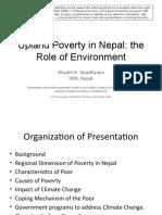 Upland Poverty in Nepal - Presentation