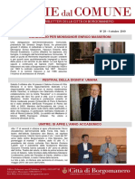Notizie Dal Comune di Borgomanero del 4-10-2019