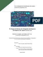 Evolução do Sistema de Telegestão da Empresa Portuguesa das Águas Livres, S.A.