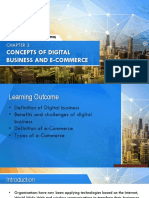 Concepts of Digital Business and e-commerce