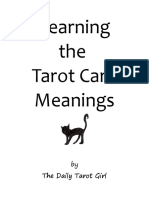 Learn the Tarot Card Meanings