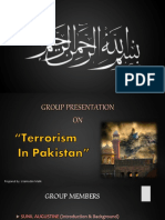 Issue of Terrorism Pptx