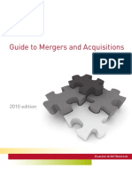 Guide to Mergers, Acquisitions