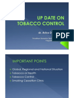 Microsoft PowerPoint - UP DATE on TOBACCO CONTROL_arikadewi