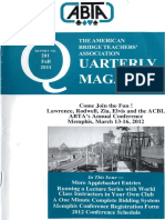 ABTA Quarterly Fall 2011