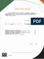 modelo de Certificado Senac