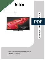 Philco Ph43c21p 3d Plasma Tv Sm
