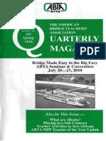 ABTA Quarterly Spring 2010