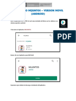 Instructivo Aplicativo MiJuntos (Movil - Web)