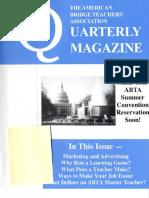 ABTA Quarterly Winter 2009