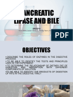 Pancreatic Lipase and Bile