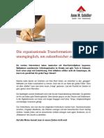 Artikel Organisationsentwickler