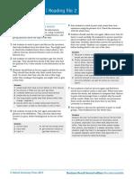Br2e Pre-Int Reading Notes 2